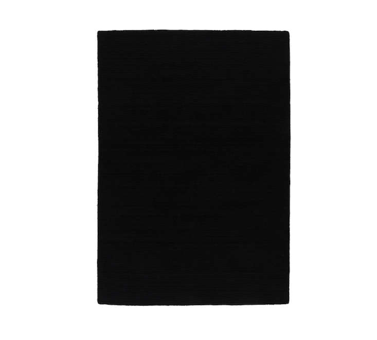 10 Easy Pieces Black LowPile Area Rugs portrait 6
