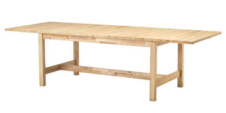 ikea norden extendable table