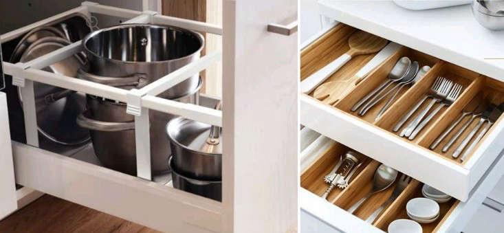 ikea sektion drawer inserts