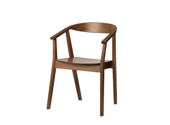 ikea stockholm chair walnut veneer remodelista