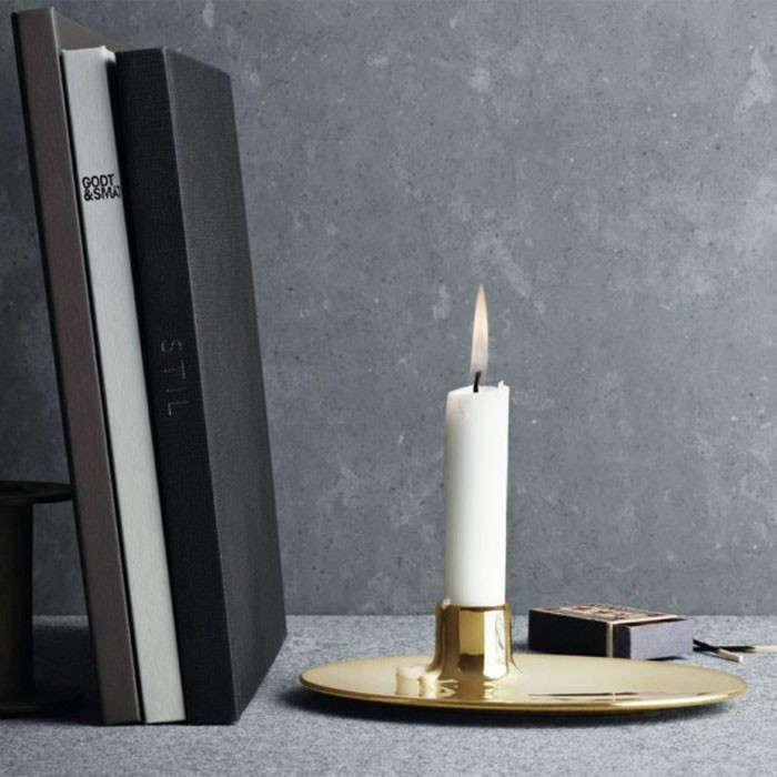 ilse crawford brass candlestick remodelista 1