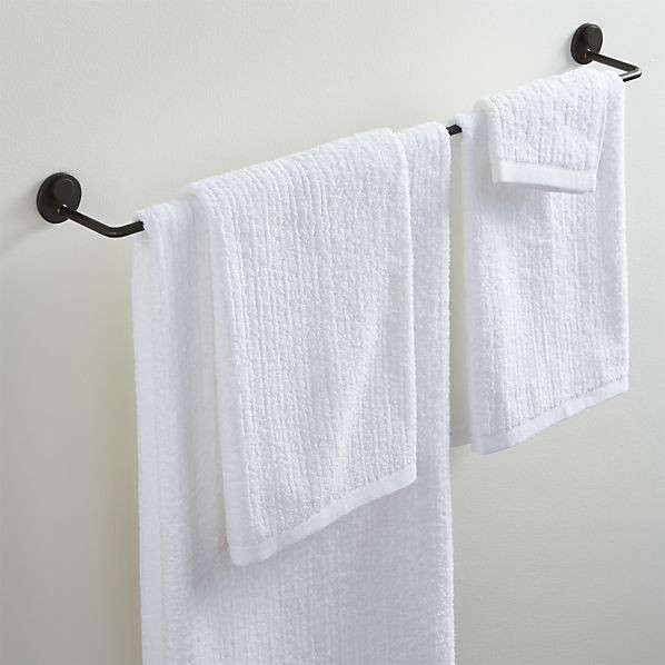 jackson single towel bar holder