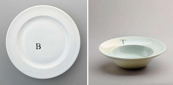 john julian design monogram plates