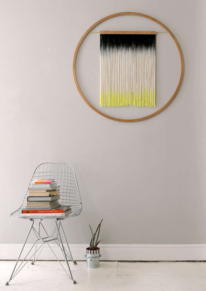 sarah recently discovered this wall hanging by julie thevenot. 10