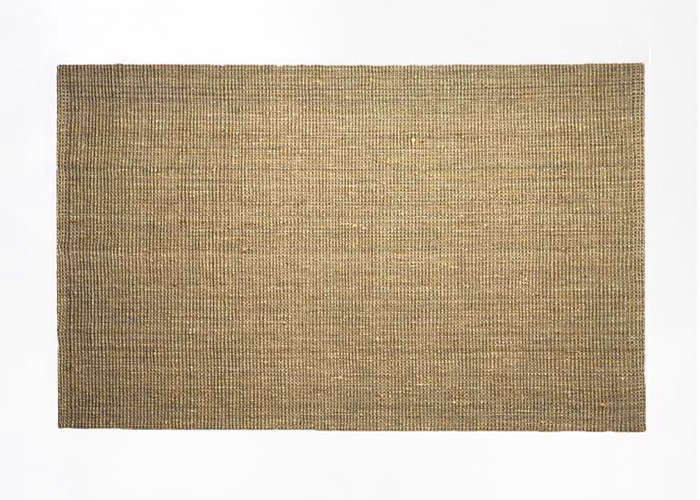 from west elm the jute boucle rug in flax is on sale for \1\25 for the five by  10