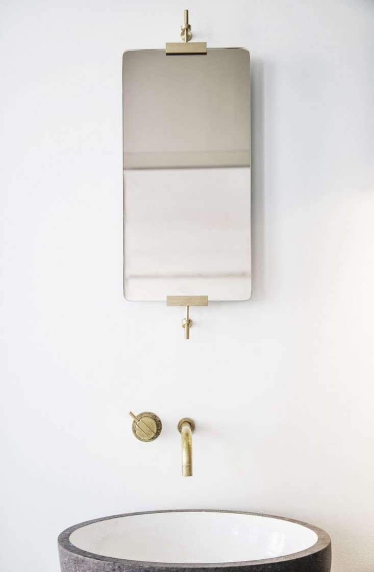 Prettiest bath mirror ever (via Shop of the New)?