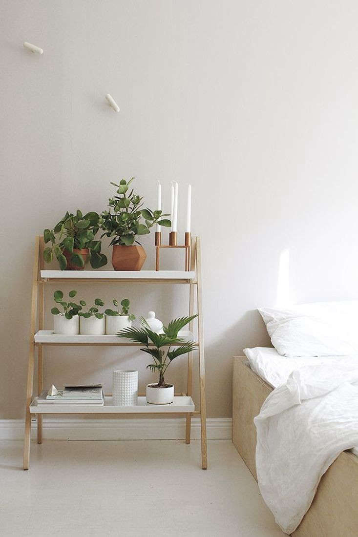 kekkila plant stand stand night table ladder gardenista