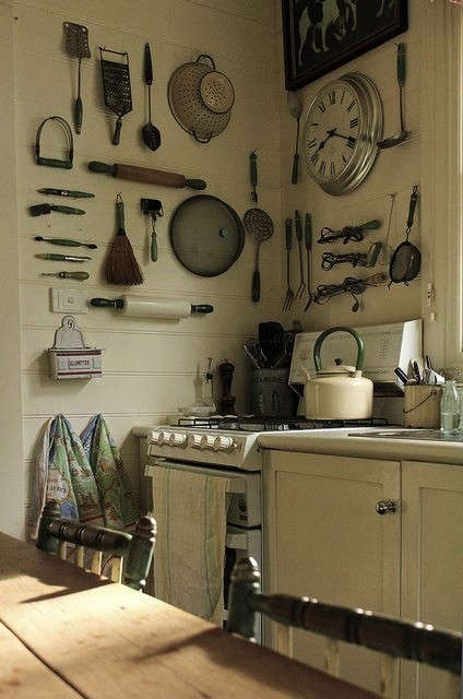 Out of the Closet 10 Kitchens with Tools on Display portrait 5
