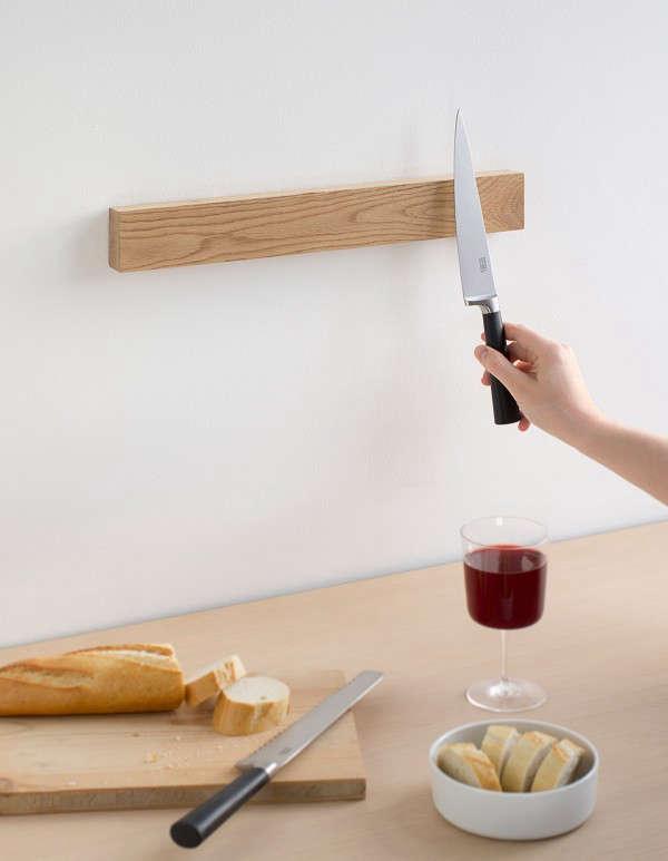 6 Stylish Wood Knife Racks for the Kitchen portrait 4