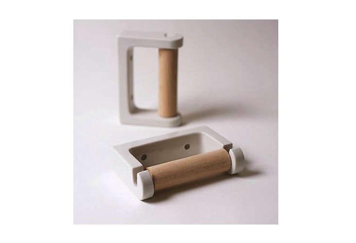 koizumi studio porcelain toilet roll holder 10