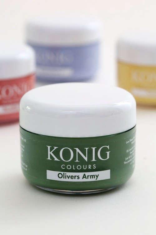 konig colours army green