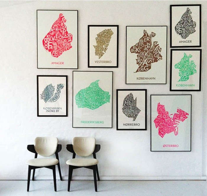 Danish Love Typographic City Posters  portrait 3
