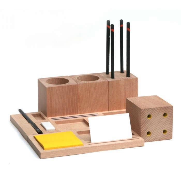 5 Favorites The Desk Set Natural Wood Edition portrait 5
