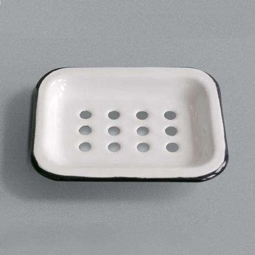 labour wait enamel soap dish