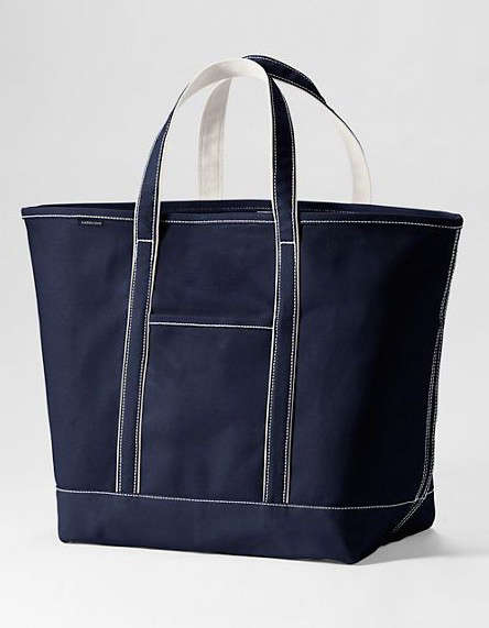 Object Lessons The Classic Canvas Tote portrait 5
