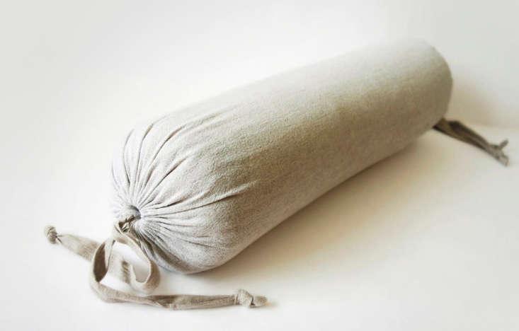 linen bolster pillow lovely home idea remodelista 0