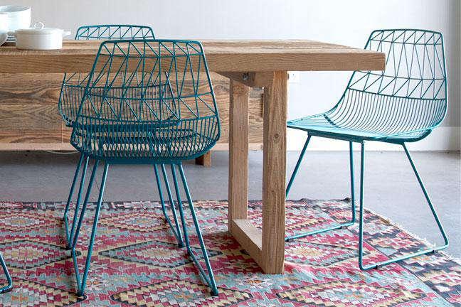 Bend It Like Nanda A HighLow Wire Chair portrait 4