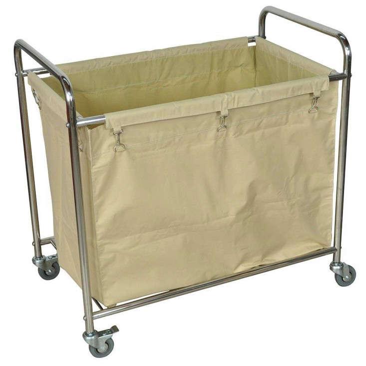 luxur laundry bin wheels