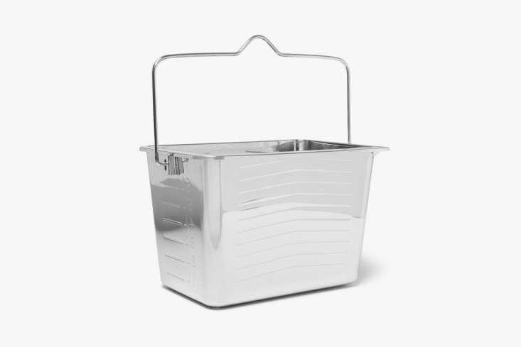 maison margiela ice bucket silver remodelista