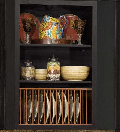 maple plate rack kitchen source