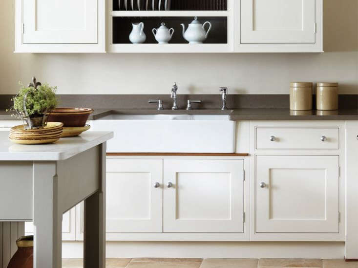 A bespoke kitchen by U.K. kitchen design firm Martin Moore & Co.