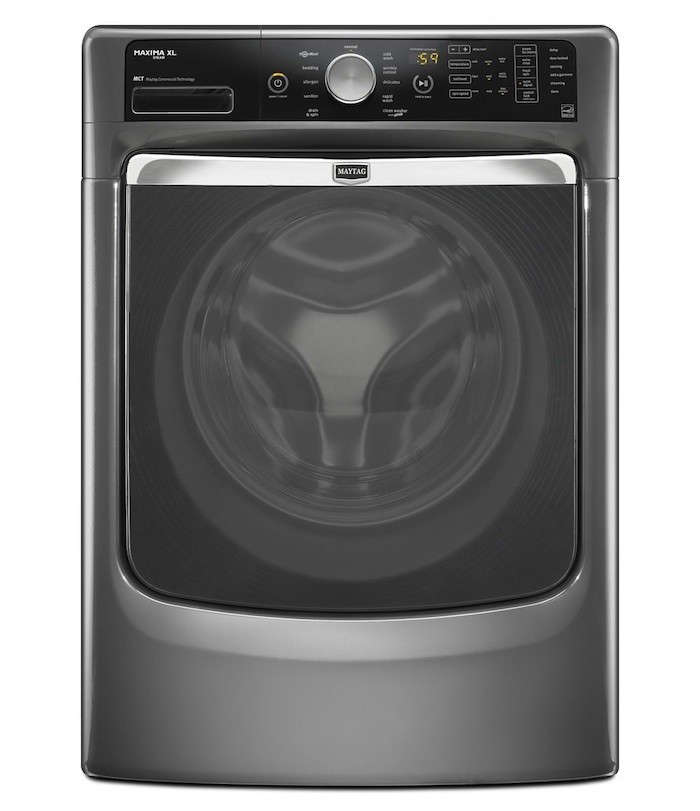 maytag maxima front loading washer graphite