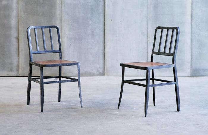 metal leather chairs heerenhuis