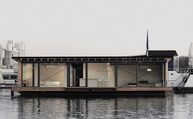 modern berlin houseboat remodelista floating