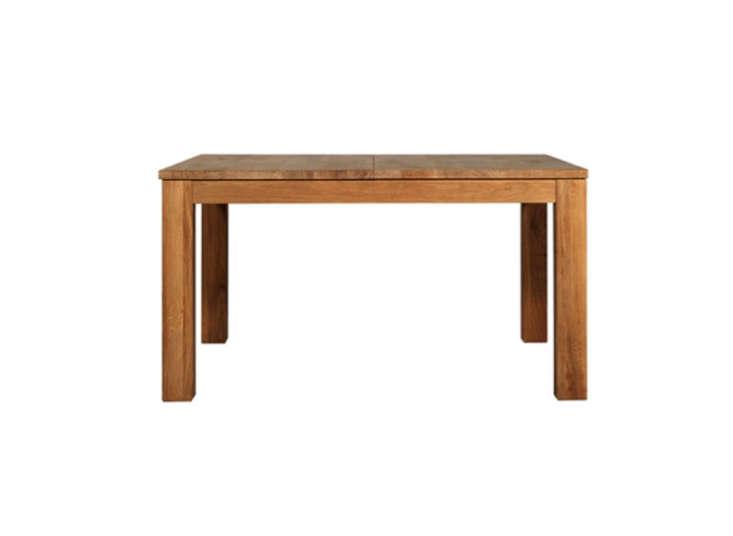 oak stretch expandable table lekker home remodelista