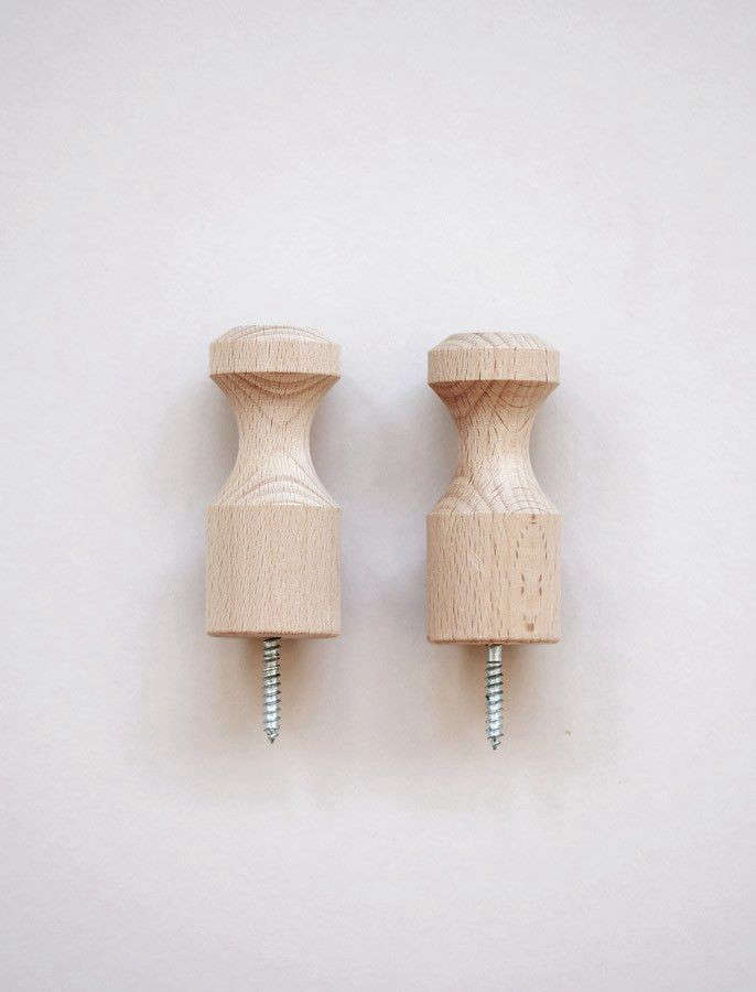 objects of use wood pegs remodelista