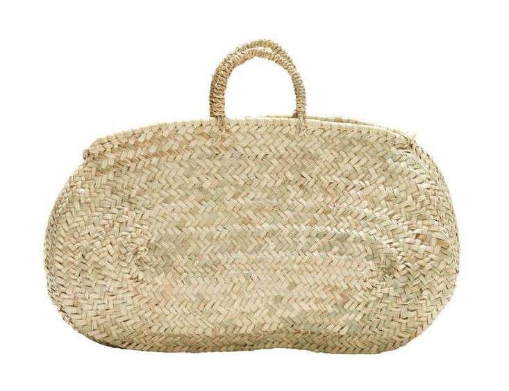 oblong market basket morocco