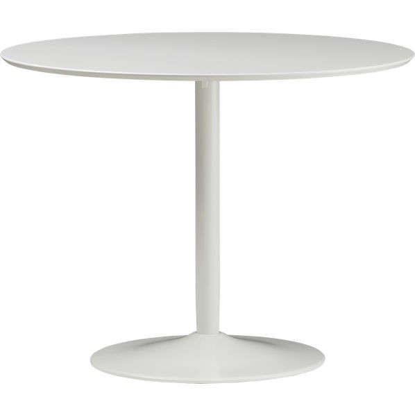 odyssey white dining table cb2 remodelista