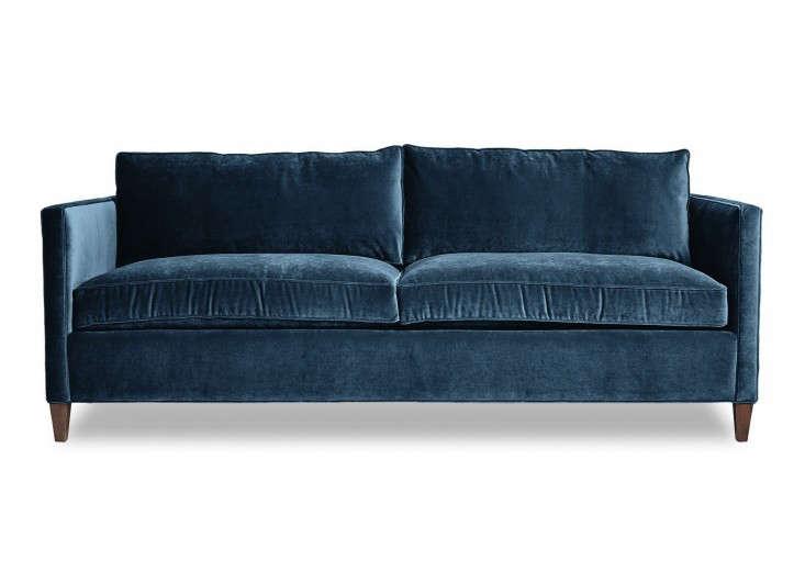 10 Easy Pieces The Blue Velvet Sofa Luxe Edition portrait 8