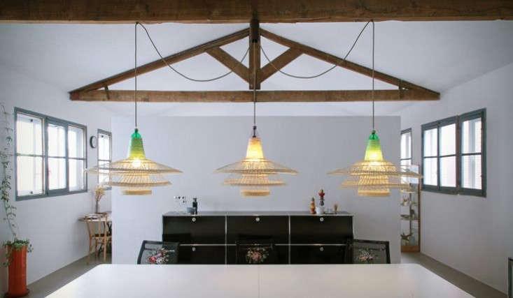 pet wicker lamp trio remodelista
