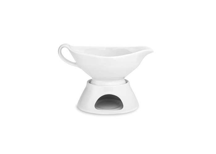 New Creative Ceramics Gravy Sauce Boat G-S411 White