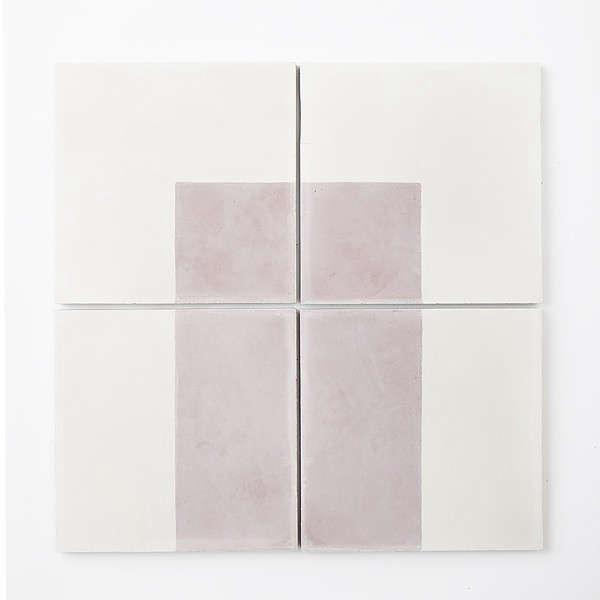 pink white tiles sweden remodelista