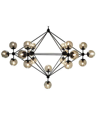 pluto chandelier bliss home
