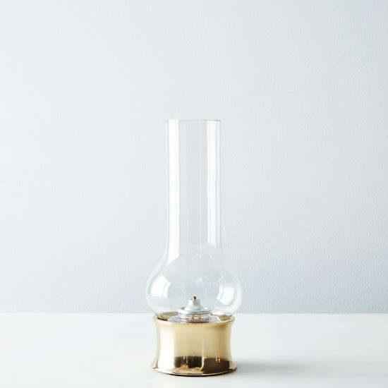 provisions brass hurrican lamp