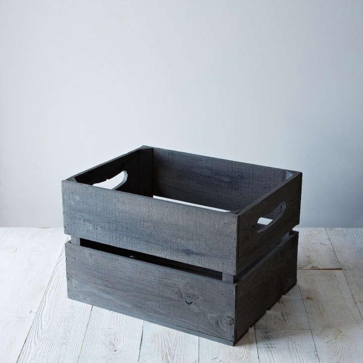 provisions replica apple crate gray remodelista