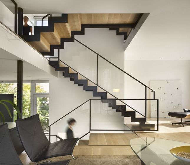 10 Favorites Wood and Steel Stairs from the Remodelista ArchitectDesigner Directory  portrait 6