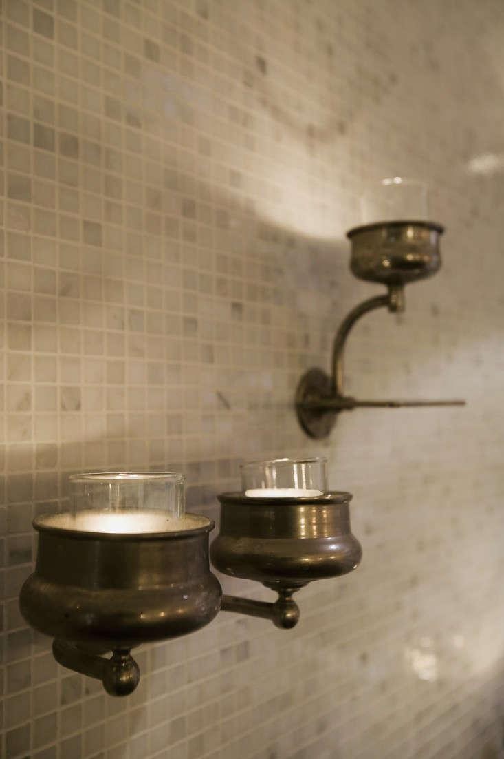 Design Sleuth Vintage Cup Holders as Candle Sconces portrait 4