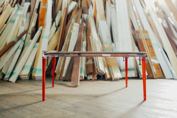 funded by kickstarter,floyd legs aims to turn any flat surface into a table. 9