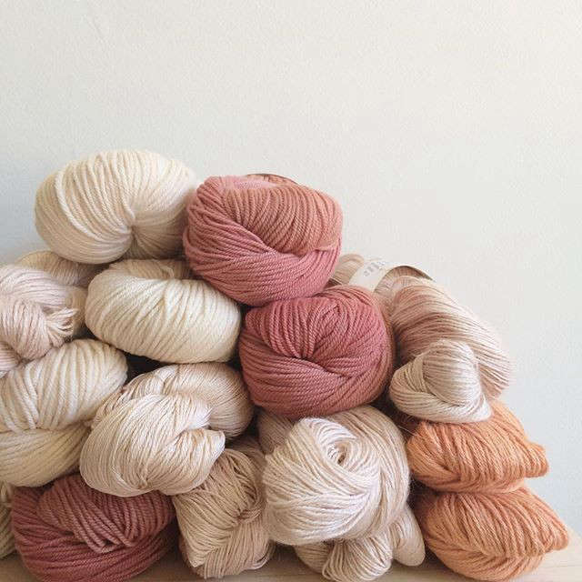 Current Obsessions Fabric and Fiber Our latest Instagram discovery is Have Company (@havecompany), a purveyor of fine yarns in Grand Rapids, Michigan.