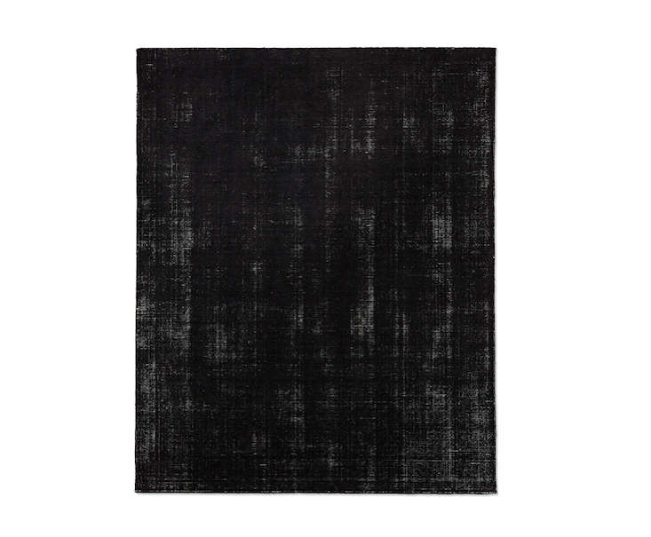 10 Easy Pieces Black LowPile Area Rugs portrait 10