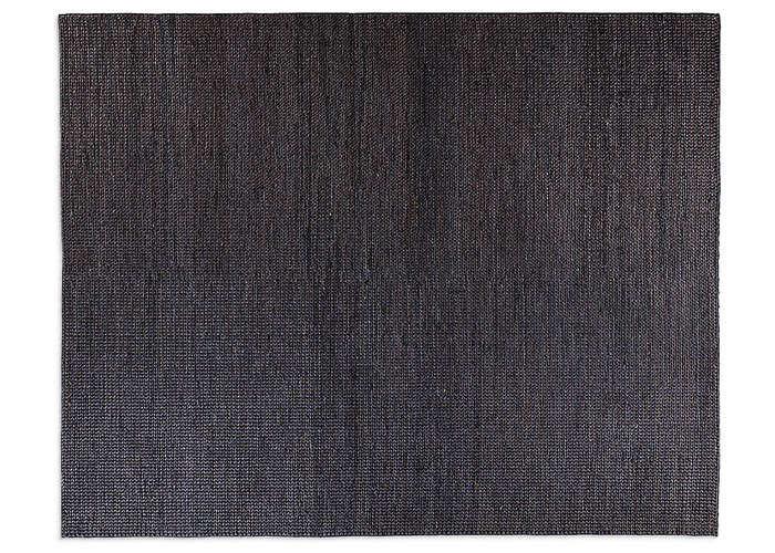 restoration hardware hand braided jute rug charcoal remodelista