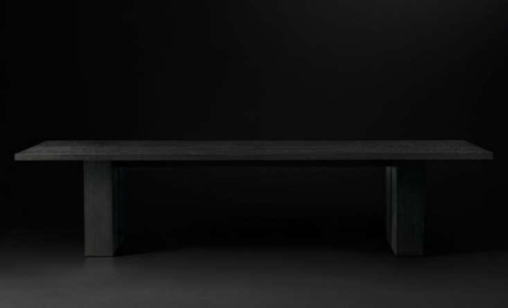 restoration hardware modern seagram rectangular dining table remodelista