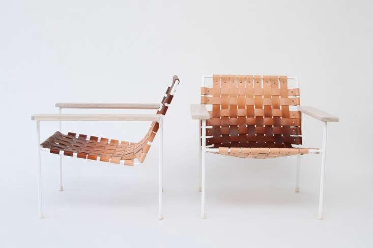 rod weave chair eric trine white powdercoat gardenista