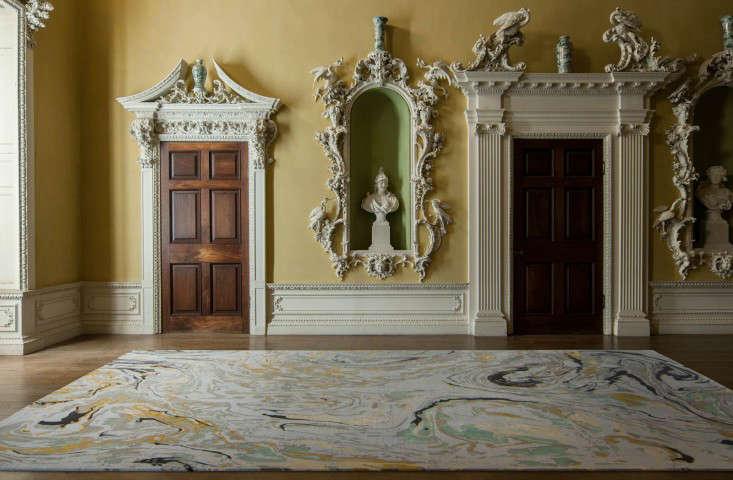 rodarte marble rug remodelista