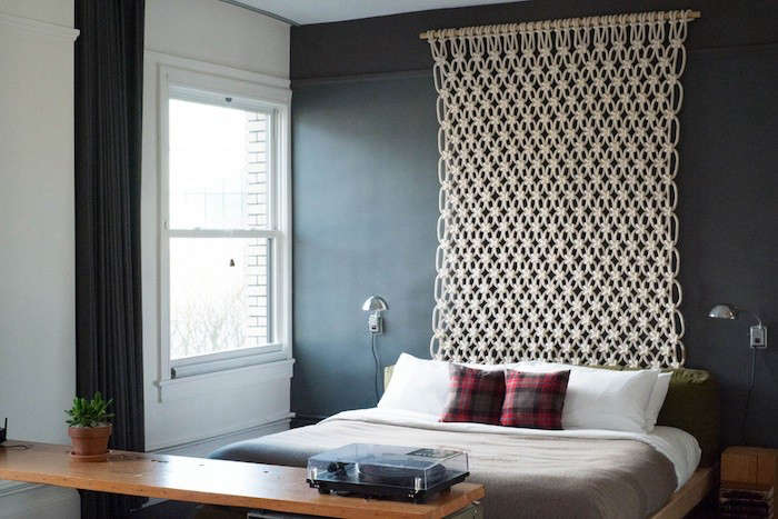 Design Sleuth Macrame Headboard from the Ace Hotels portrait 5