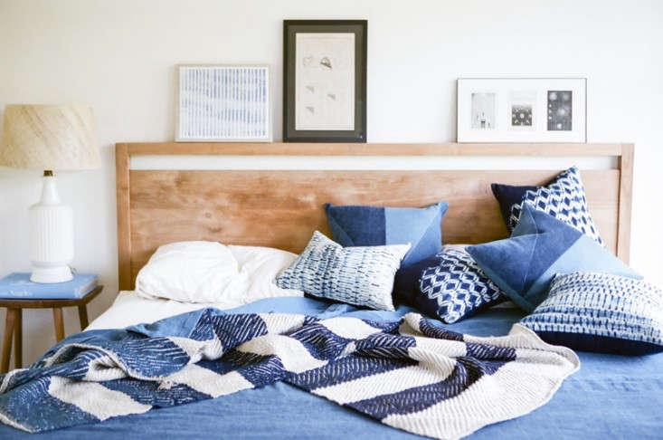 shibori pillows noon design studio Remodelista